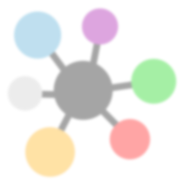 Sistema Empresarial Icono Fondo Blur